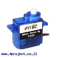 מנוע סרוו (מיקרו) - FEETECH FS90