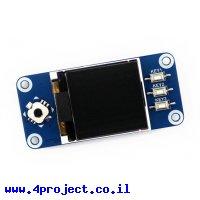 """מסך LCD 1.44"""" 128x128, ממשק RPi"""