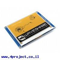 """מסך E-Ink ל-3 צבעים (צהוב, שחור, לבן), גודל 4.2"""", רזולוציה 400x300"""