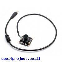 מצלמה עם חיבור USB, זווית ראיה 145 מעלות - 8MP, מיקרופון מובנה