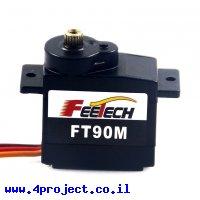 מנוע סרוו (מיקרו) - קו משוב - FEETECH FT90M-FB