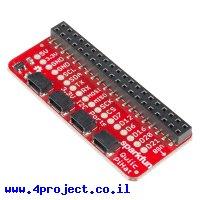 תוסף ל-Rasperry PI - חיבורים למערכת Qwiic