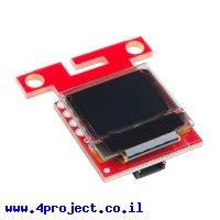 מסך Micro OLED 64x48 - חיבור Qwiic