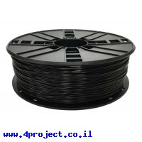 פלסטיק למדפסת 3D - שחור - ASA 1.75mm