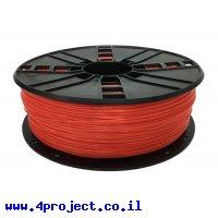 פלסטיק למדפסת 3D - אדום - ASA 1.75mm