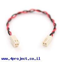 מחבר גישור Molex 2 pin ל-Molex 2 pin