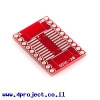 כרטיסון מתאם בין SOIC ל-DIP 20pin