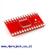 כרטיסון מתאם בין SSOP ל-DIP 28pin