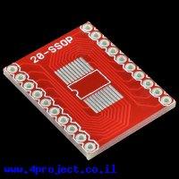כרטיסון מתאם בין SSOP ל-DIP 20pin