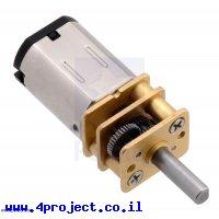 מנוע מיקרו HPCB 450rpm @ 12V