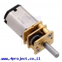 מנוע מיקרו HPCB 1100rpm @ 12V