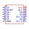 תמונה של מוצר  STMicroelectronics HCF4024BE