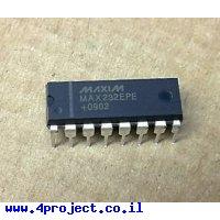 שבב תקשורת RS232 - MAX232