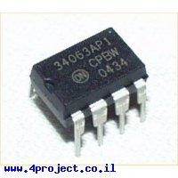 מייצב מתח / ממיר DC ל-DC (מעלה/מוריד) דגם MC34063A