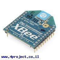 מודול תקשורת XBee S1 1mW - אנטנת שבב