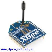 מודול תקשורת XBee S2 (ZB) 2mW - אנטנת חוט