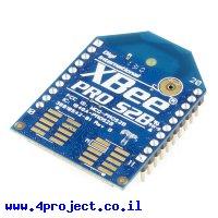 מודול תקשורת XBee Pro S2B (ZB) 63mW - אנטנת PCB