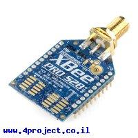 מודול תקשורת XBee Pro S2B (ZB) 63mW - מחבר RP-SMA