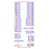 תמונה של מוצר  FUJITSU MBM29F800TA-55PFTN