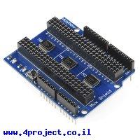 מגן Arduino - מרבב 48 כניסות/יציאות