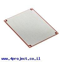 """לוח הלחמה SMD מלבן 100x80 מ""""מ"""