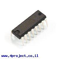 שבב הזזה 8bit Parallel In/Serial Out 74HC165
