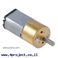 מנוע 15.5Dx30L עם תיבת העברה מתכתית 115:1