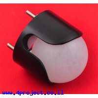 """גלגל כדורי מפלסטיק - 25.4 מ""""מ"""